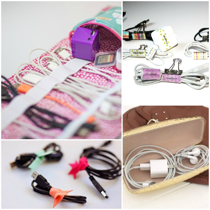 Wire Organizers | 15 Diy Cord Organizers To Keep Your Wires And Cables Untangled