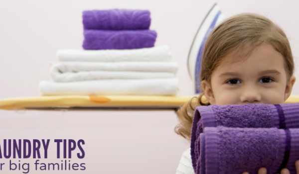 Sanity-Saving Laundry Tips for Large Families