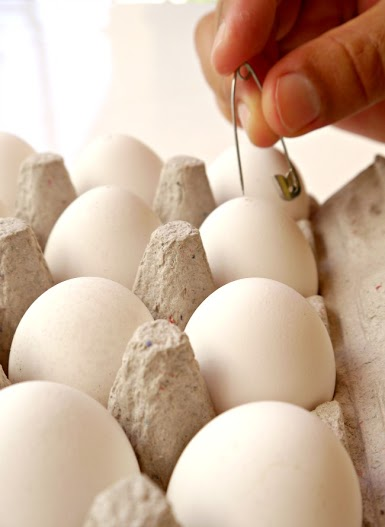 Boil eggs without cracking them!