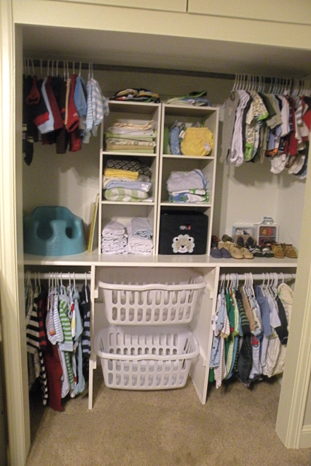 organize baby clothes 13