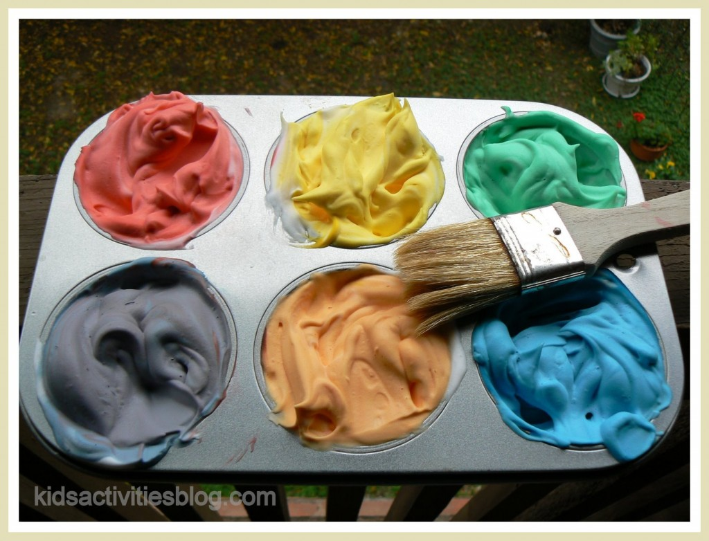 shaving cream hacks 5