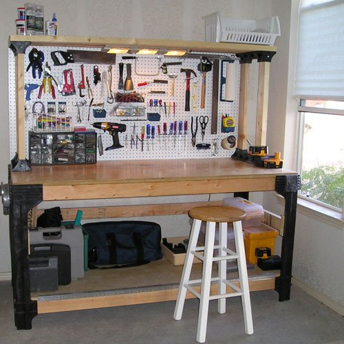 Perfect Organize Your Garage And Tool Workbench With This!