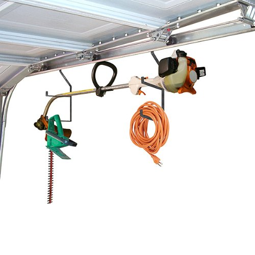 Smart Garage Organization Idea! Hang your items!