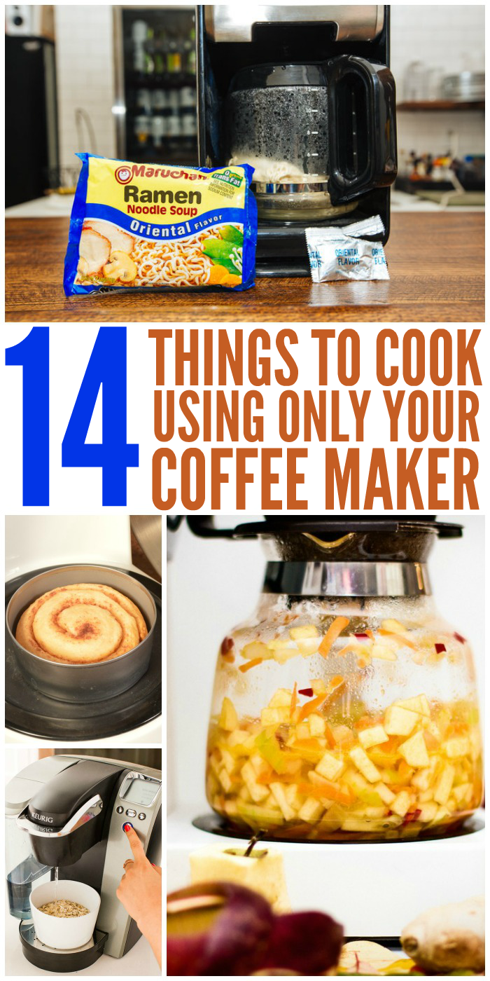 14 Foods You Can Cook with Your Coffee Maker