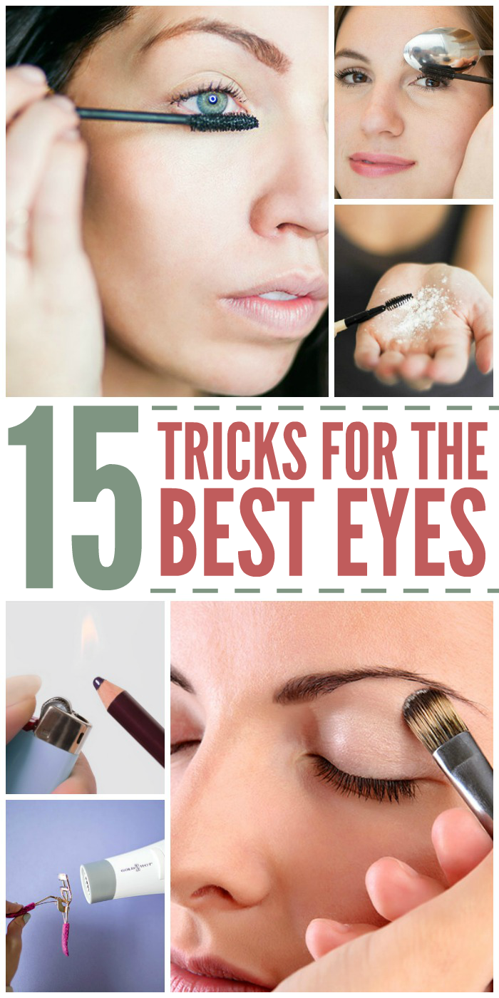 15 Makeup Tricks for the Best Eyes