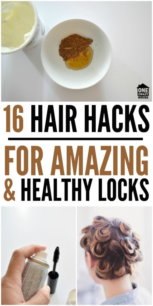 16 Hair Hacks for Amazing & Healthy Locks