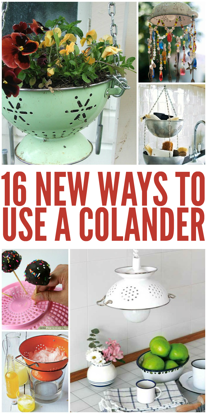 16 New Ways to Use a Colander