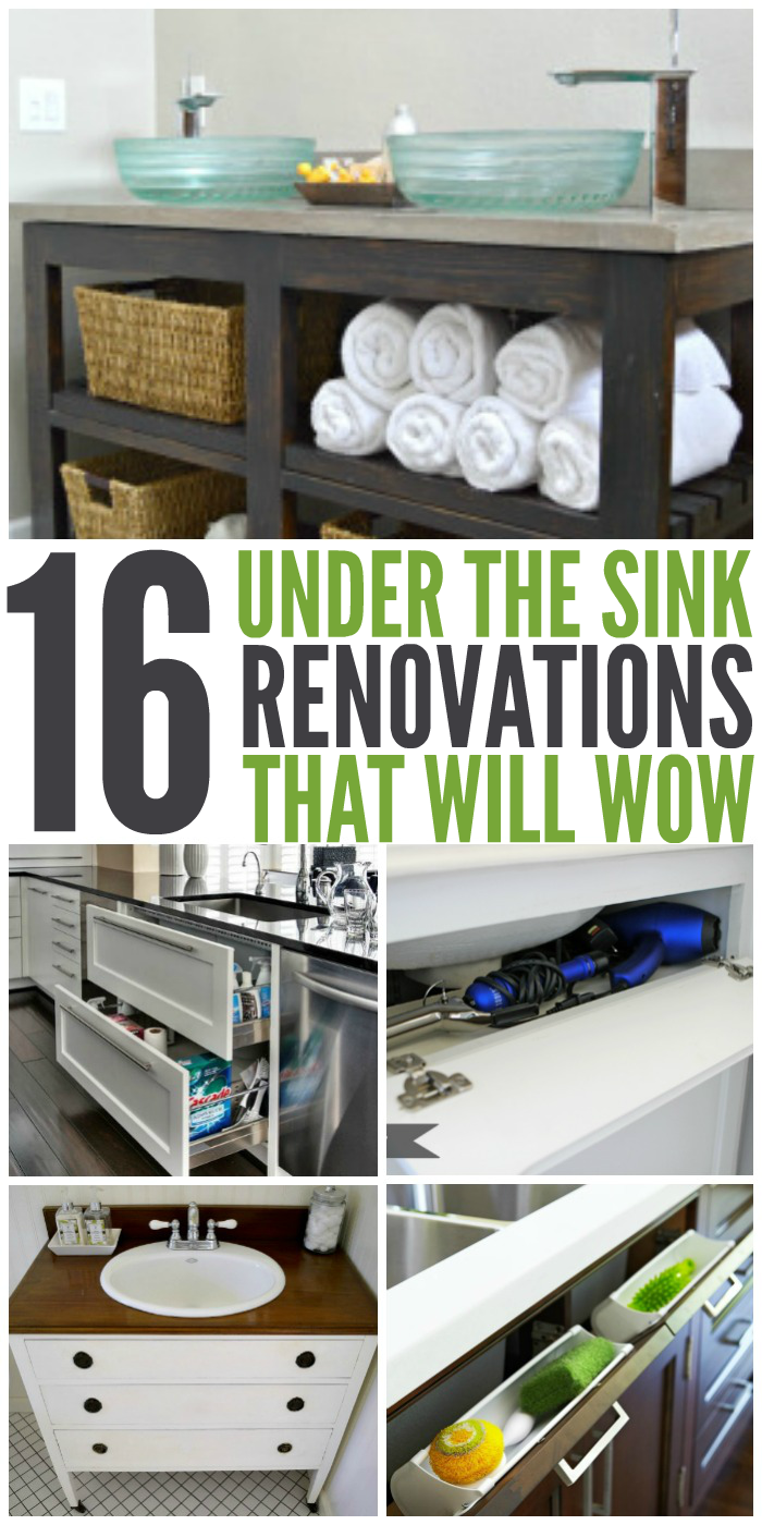16 Renovations Under Your Sink That Will Wow