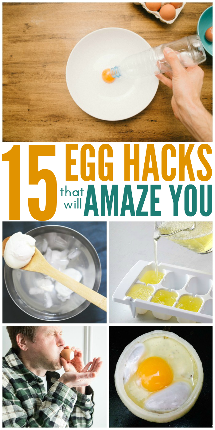 15 Egg Hacks That Will Amaze You