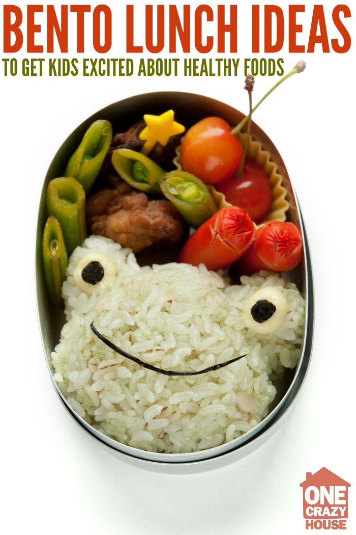 Healthy Bento Lunch Ideas for Kids