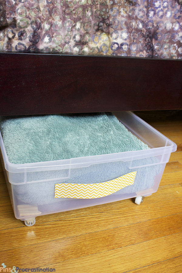 clever ways to hide clutter 12