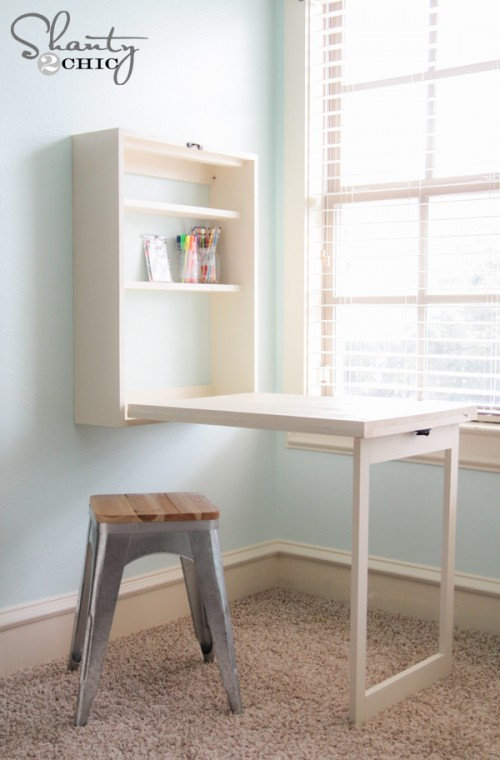 clever ways to hide clutter 13