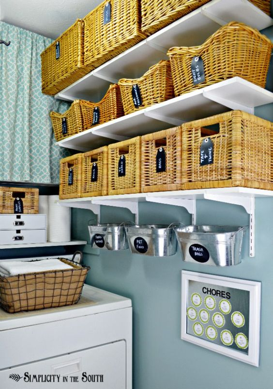 clever ways to hide clutter 8