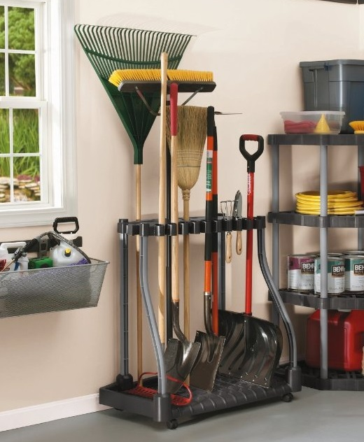 garage organizer - These are genius! Organize and get rid of the clutter with these tips. I can park the car now!!