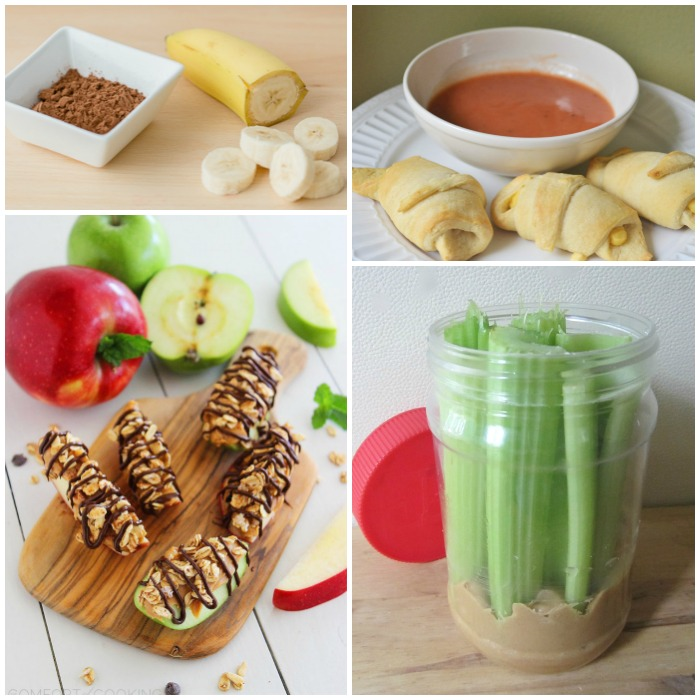 lazy ideas for snacks