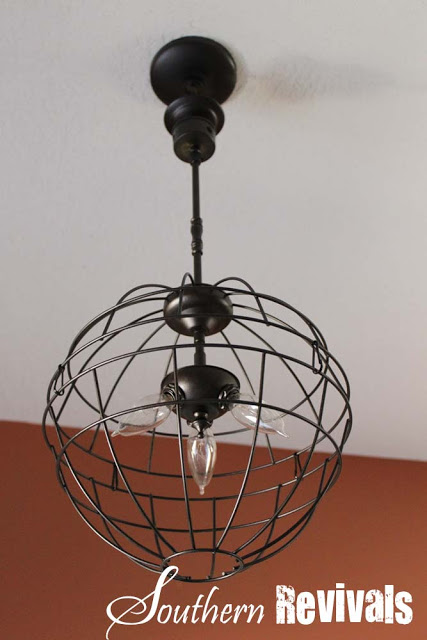 light fixture makeover 12