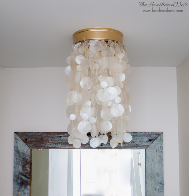 15 light fixture makeovers to save you a ton of money light fixture makeover 14 aloadofball Choice Image