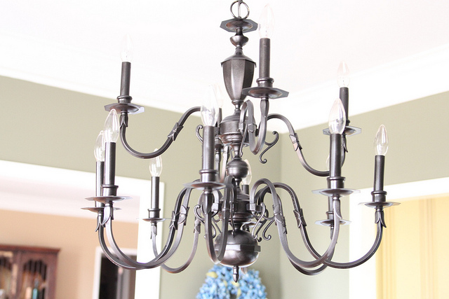 light fixture makeover 9