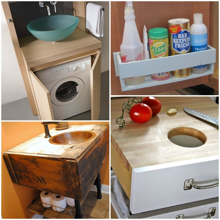 under the sink storage ideas