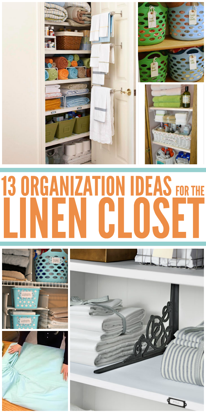 Closet Organizing Ideas 13 brilliant linen closet organization ideas