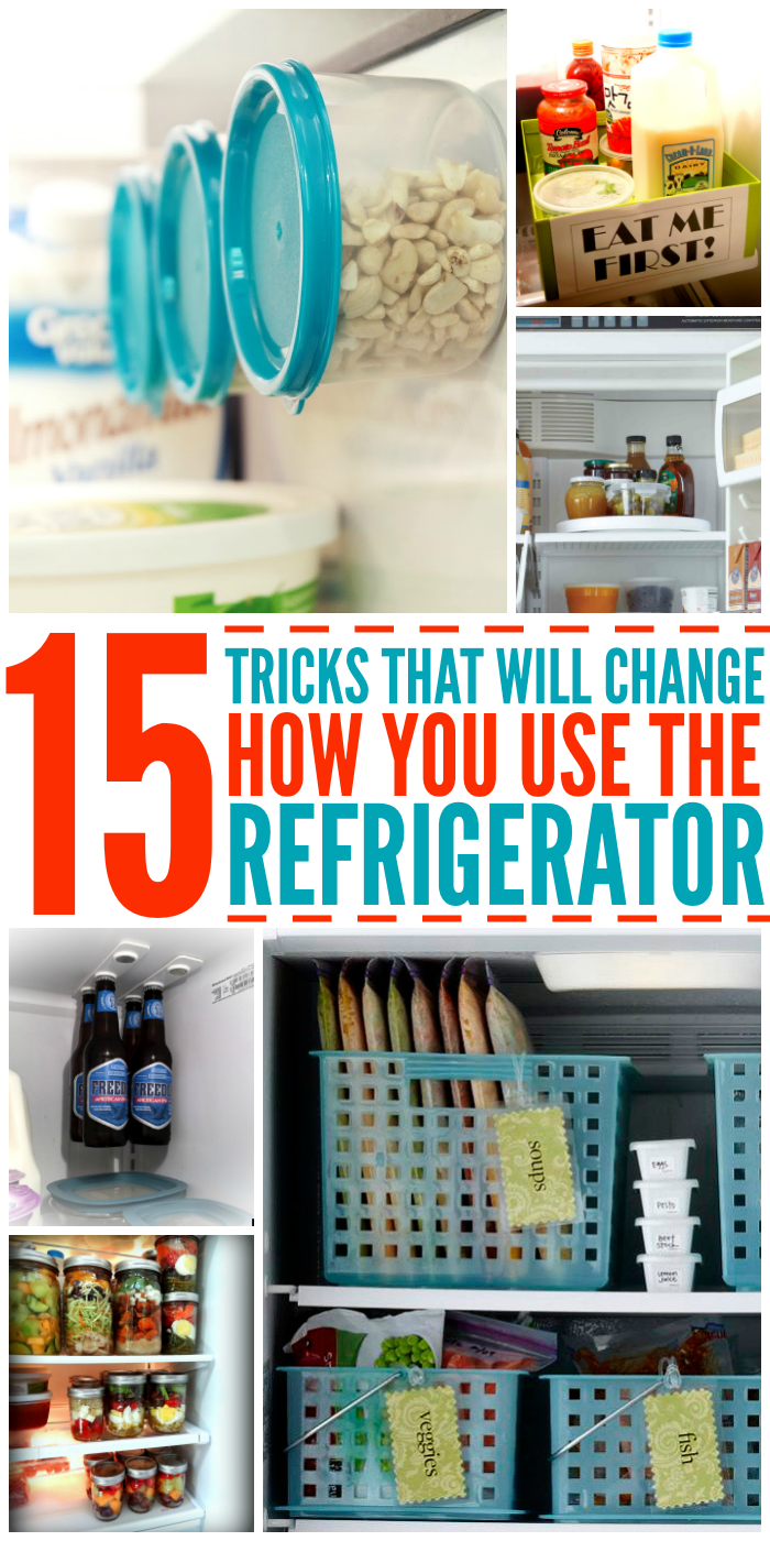 Wondrous 15 Tricks That Will Change The Way You Use Your Fridge Home Interior And Landscaping Transignezvosmurscom