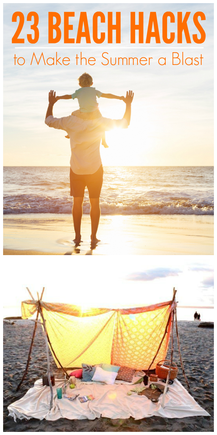 23 Beach hacks that you will LOVE!!!