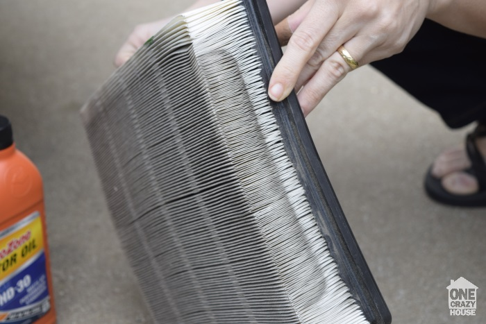 change your car air filter