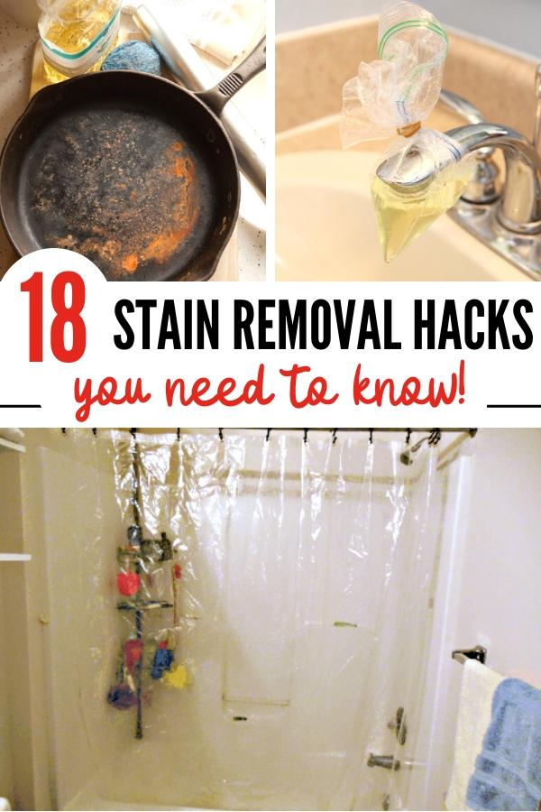 Stain removal tips pin image B