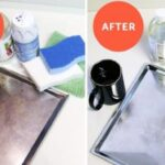 stain removal bakeware before and after