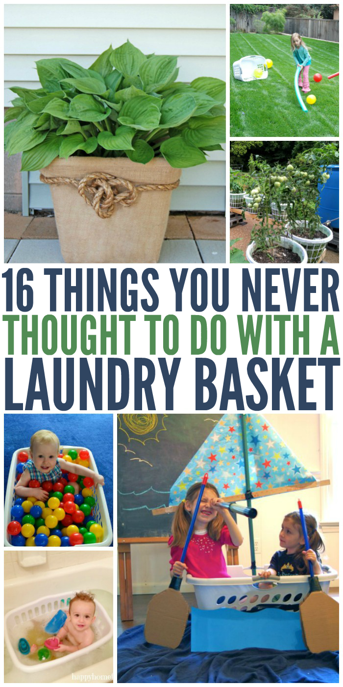 Things You Never Thought to Do with a Laundry Basket