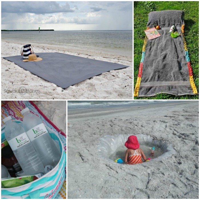 Beach Hacks For Moms