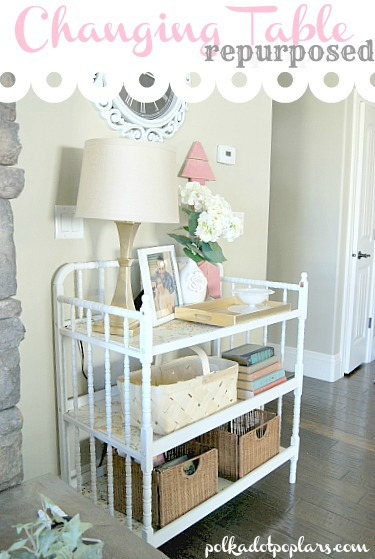 15 Genius Ways To Repurpose Changing Tables
