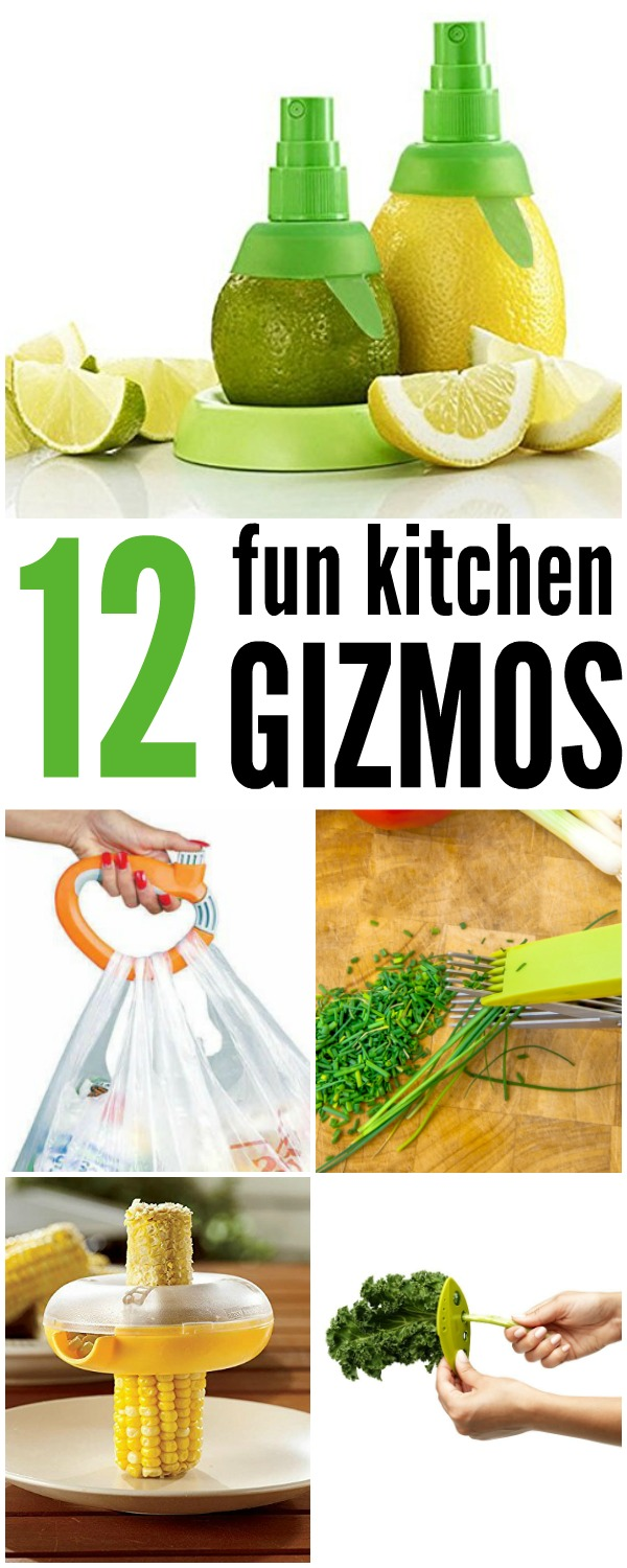 12 Fun Kitchen Gizmos | www.onecrazyhouse.com