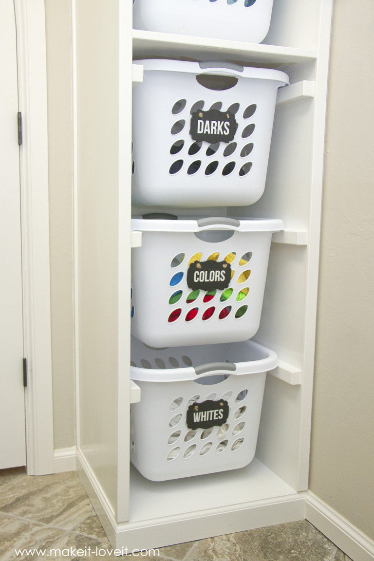 laundry basket ideas 15 16 Things You