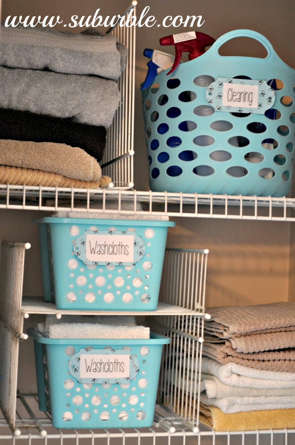 13 Brilliant Linen Closet Organization Ideas