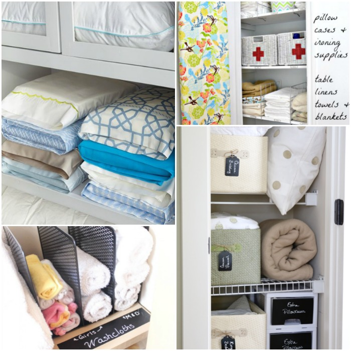 brilliant linen closet organization ideas