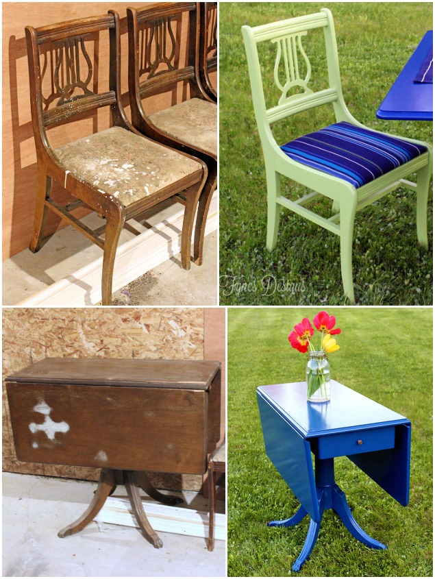 outdoor furniture makeovers 2