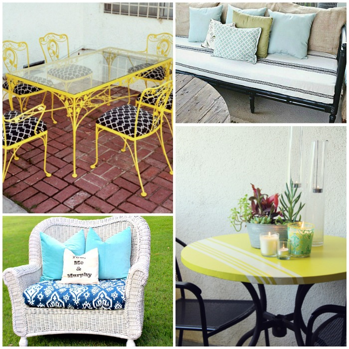 outdoor furniture transformations