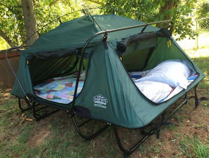 tent cot for camping