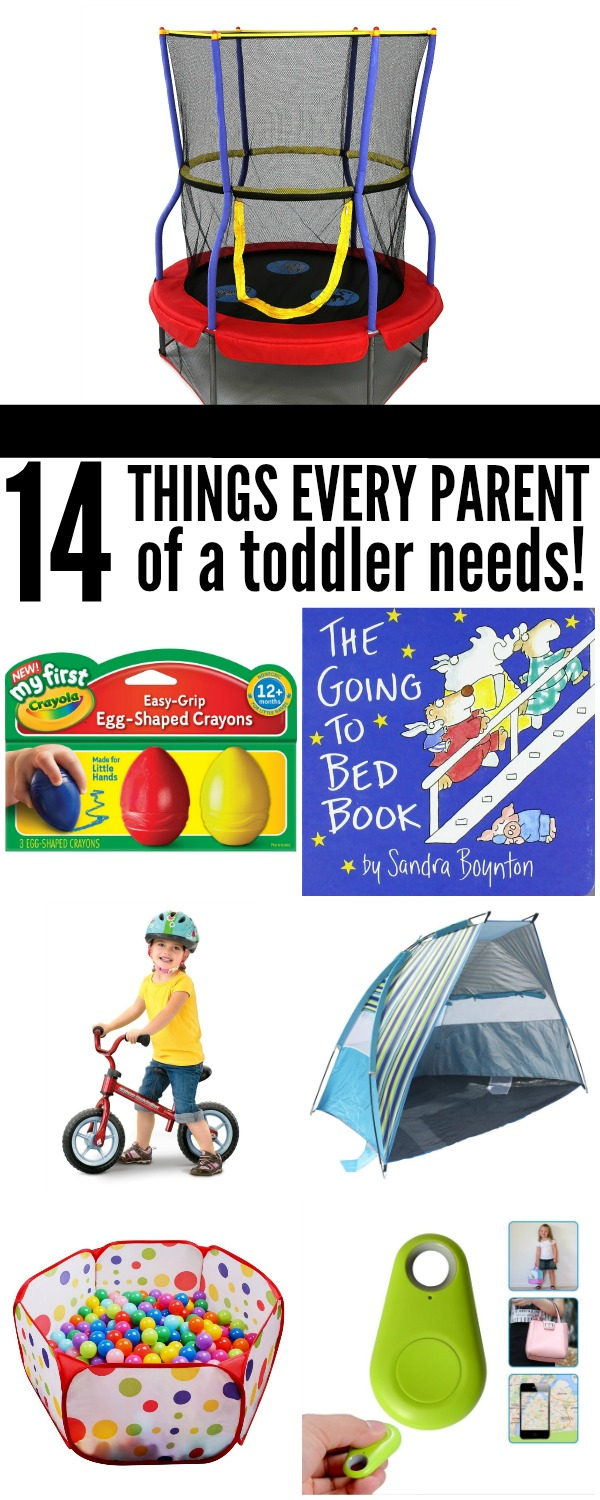 14 Things Every Parent of a Toddler Needs | www.onecrazyhouse.com