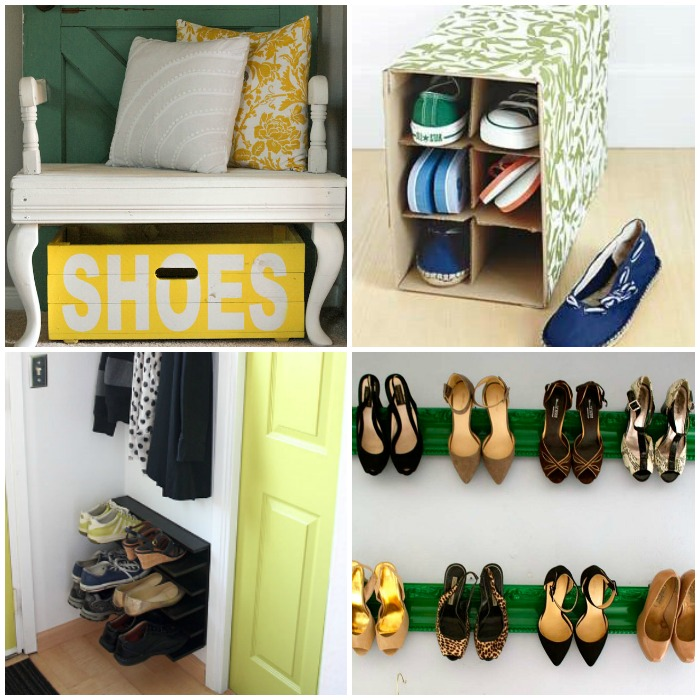 15 Brilliant Shoe Organization Ideas