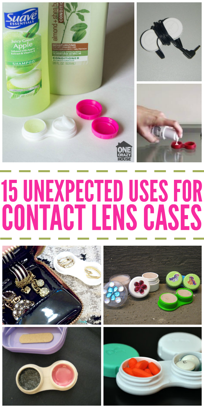 15 Unexpected Uses for Contact Lens Cases