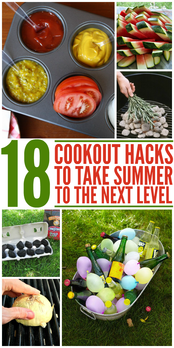 18 Cookout Hacks To Take Summer Entertaining To The Next Level