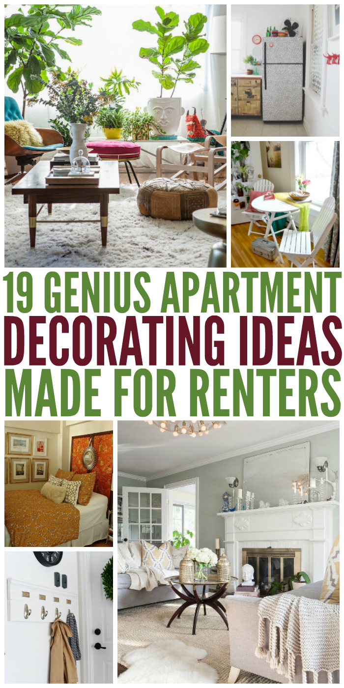 Apartment Decorating For Renters 19 genius apartment decorating ideas made for renters
