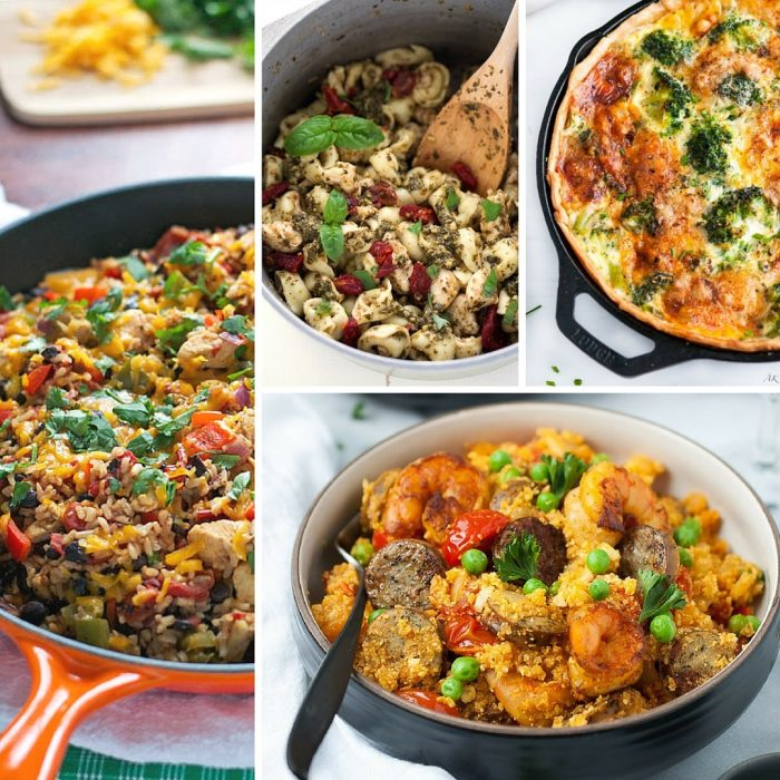 31 Quick & Easy One Pot Meals