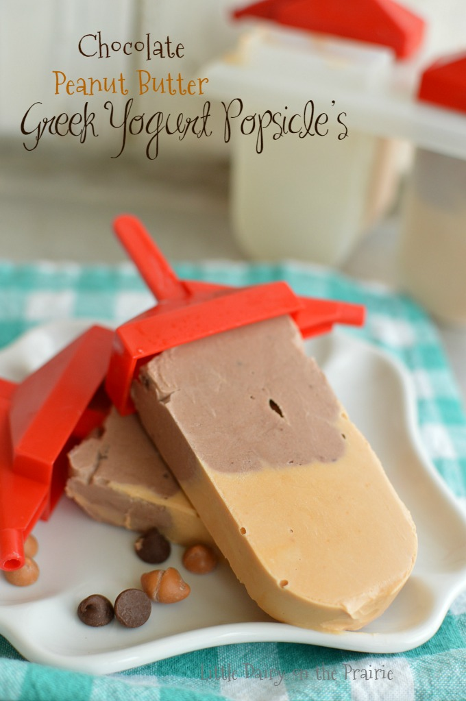 Chocolate Peanut Butter Popsicle