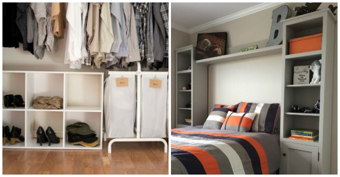 cool storage ideas for small bedrooms 19 bedroom organization ideas 20429