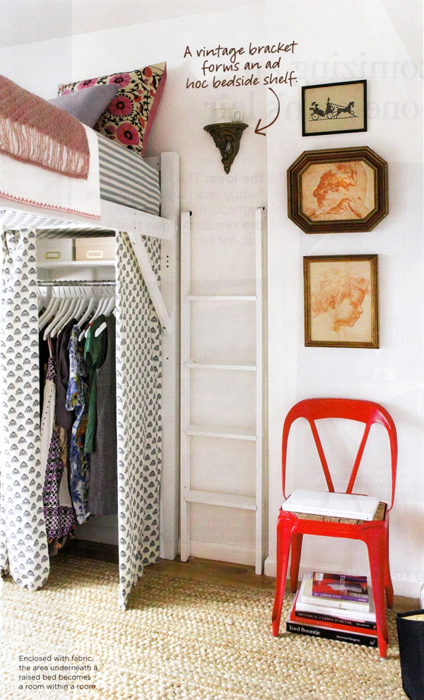 18 ways to store clothes not in a pile for How to make more space in your bedroom