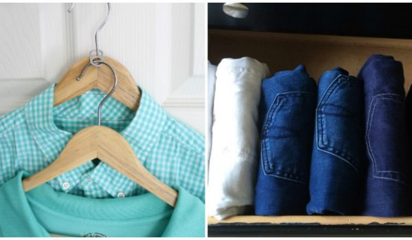 18 Ways to Store Clothes (Not In a Pile)