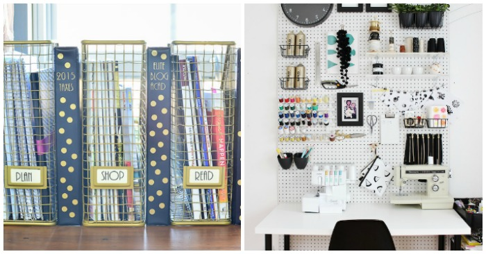 Creative Home Office Ideas: 16 Ideas For The Most Organized Desk Ever